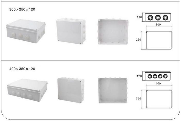 Ip65 Waterproof Fire Resistant Abs Plastic Material Ce