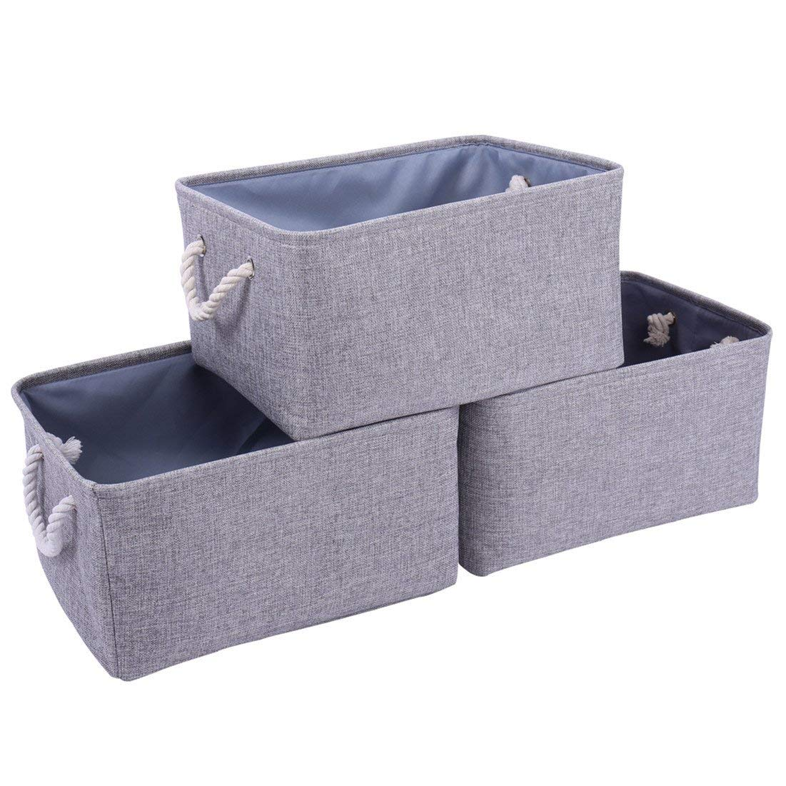 Buy Thewarmhome Storage Bins Baskets For Shelves Fabric