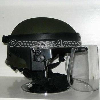 Bphv  Tactical Ballistic Protection Helmet With Face Shield