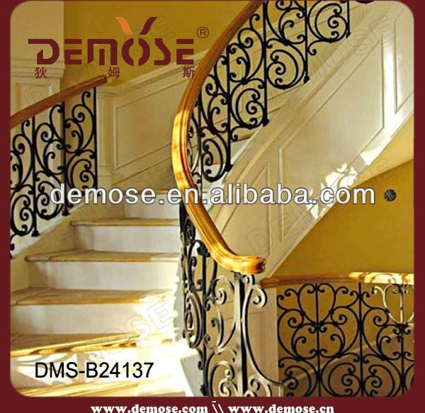 Railing In Wrought Iron Curved Wrought Iron Stair Railings Buy | Curved Wrought Iron Railings | Colonial | Wood | Wall Mounted | Outdoor | Veranda
