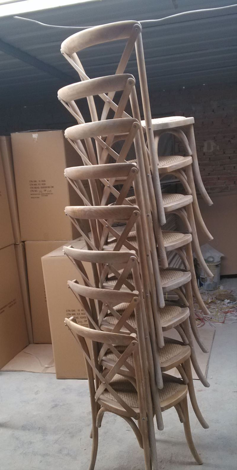 Stackable Cross Back Wood Banquet Chair Sales Amp Promotion