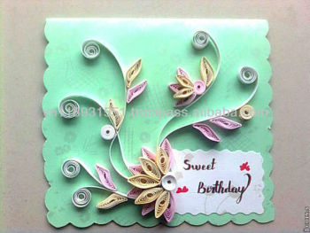 Greeting CardHandmade Greeting CardQuilling Paper Card