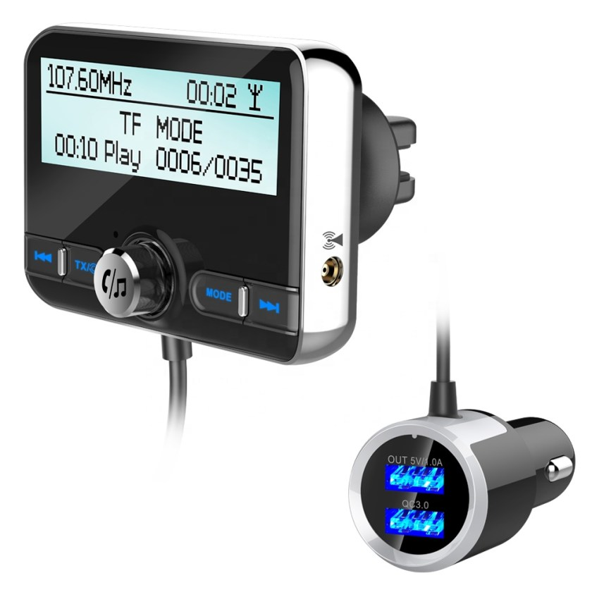 Wholesale Bluetooth Car Charger Receiver DAB+/DAB Digital Wireless Bluetooth FM Transmitter