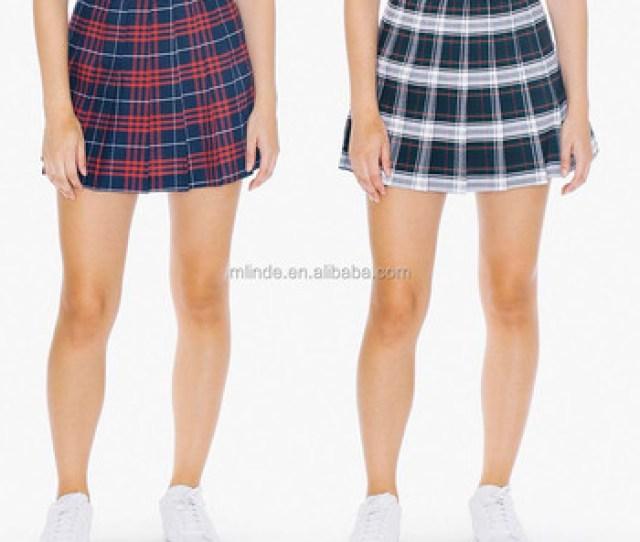 Latest Skirt Design Pictures Sexy Girl Mini Plaid Tennis Skirts Adult School Girl Short Tartan Purple
