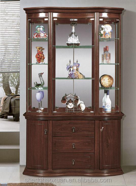 Living Room Furniture Wood Cabinet Corner Wooden Bar