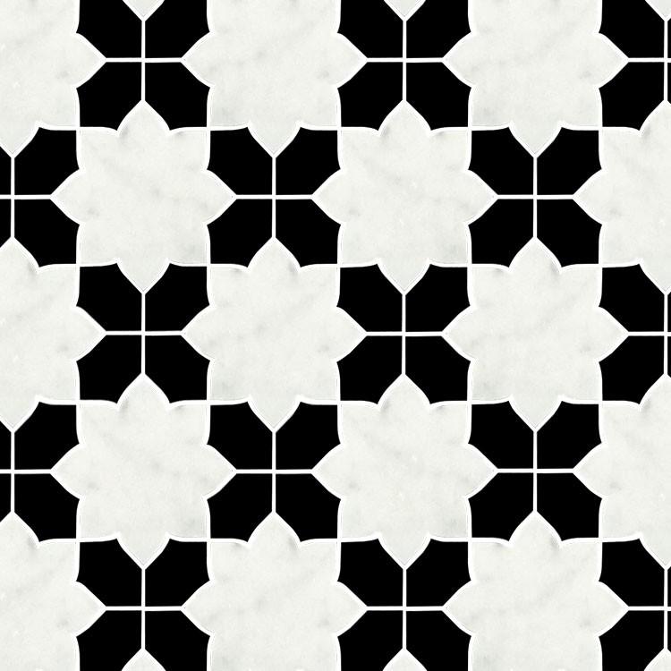 black white waterjet design mosaic floor tile price in inida buy home marble floor design black and white marble mosaic floor tile waterjet marble