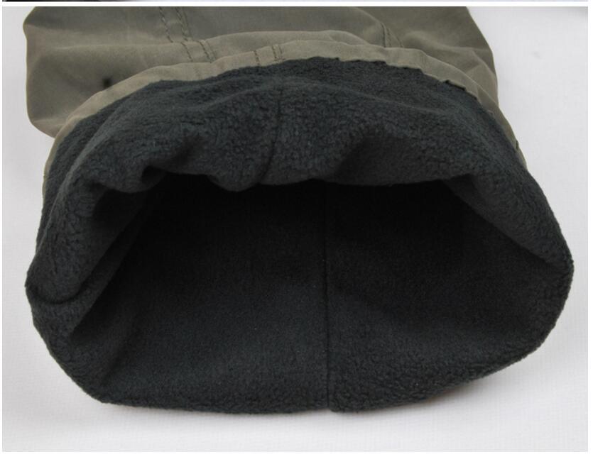 Men's Cargo Pants 2019 Winter Casual Warm Thicken Fleece Pants Men Cotton Multi Pockets Combat Military Baggy Tactical Pants 59