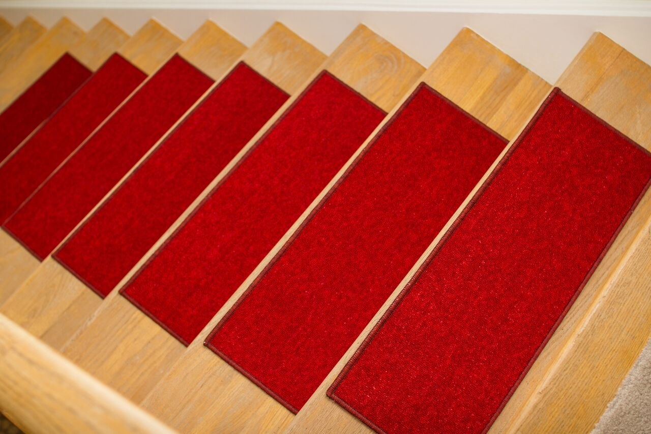 Buy Gloria Rug Skid Resistant Rubber Backing Gripper Non Slip   Rubber Backed Carpet Stair Treads   Slip Resistant Rubber   Ultra Thin   Wood   Ottomanson   Beige
