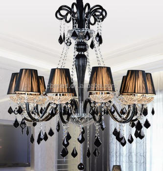 Black Crystal Chandelier Replacement Parts Sea Shell Antique Waterford