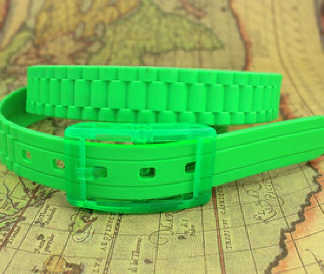 Fashion Silicone Cheap Silicone Belt Rubber Silicon Belts