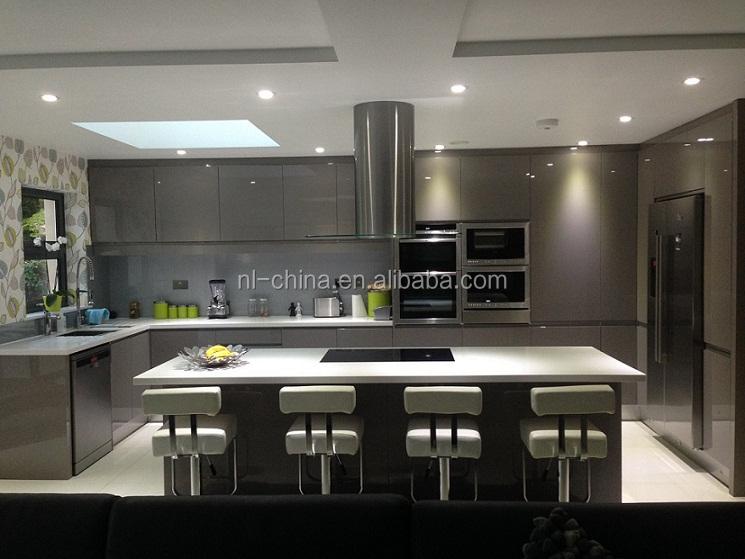 Modern Design Melamine Door Finishing Kitchen Cabinet With