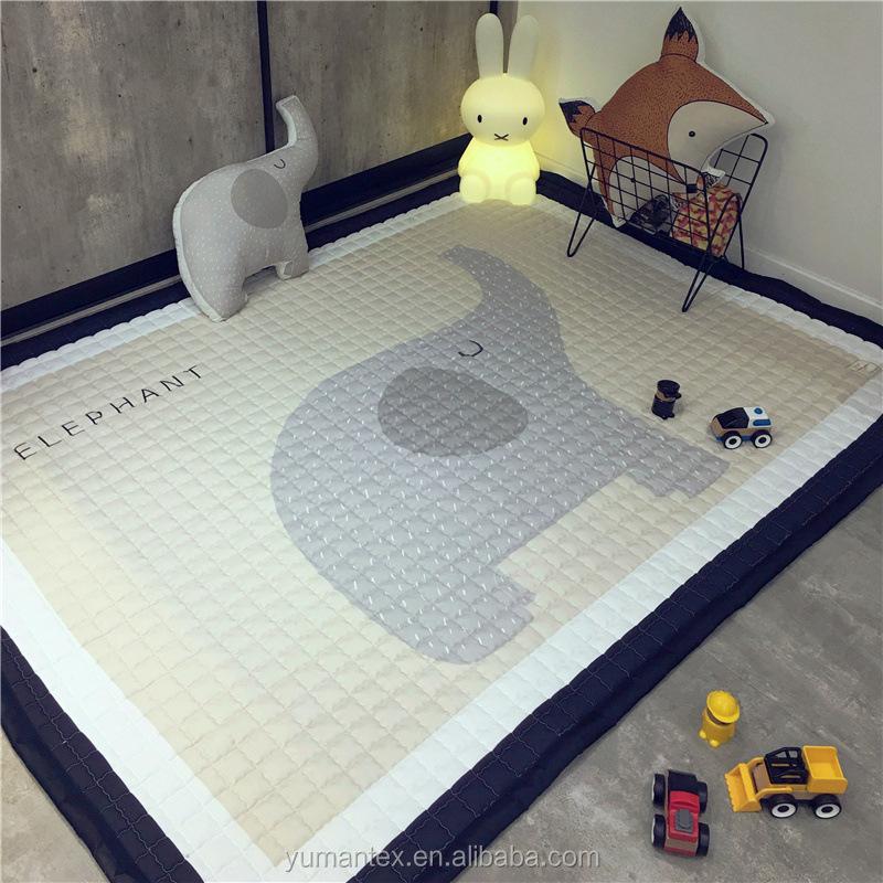 tapis de jeu rond pour bebes 145x195cm forme d elephant gris tapis de sol pour enfants activites en plein air buy tapis de jeu pour bebe grands