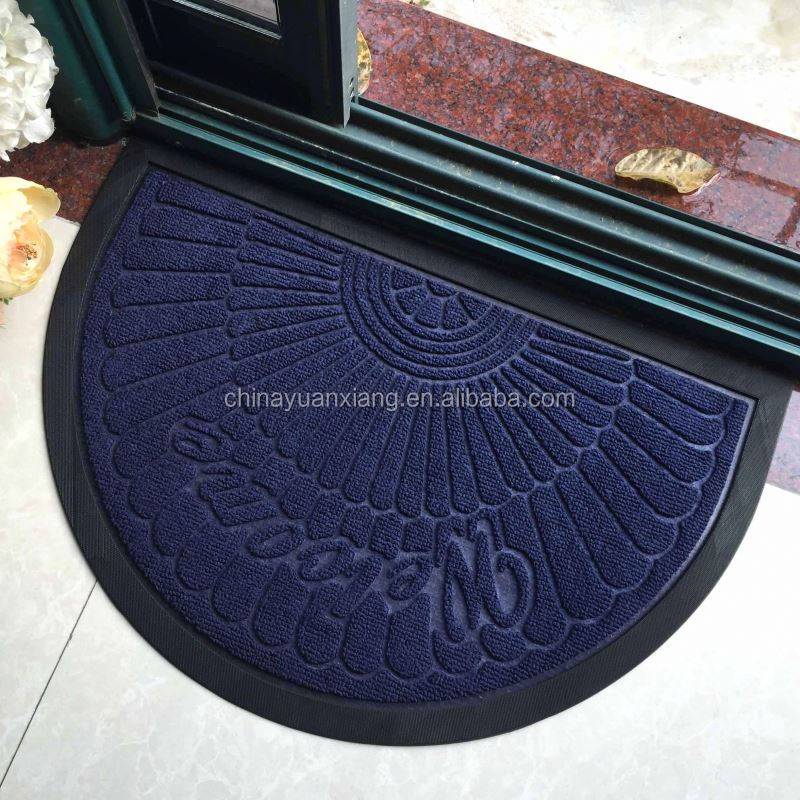 https french alibaba com product detail half round welcome blue door entrance carpet 60475753310 html