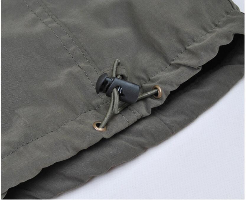 Men's Cargo Pants 2019 Winter Casual Warm Thicken Fleece Pants Men Cotton Multi Pockets Combat Military Baggy Tactical Pants 57
