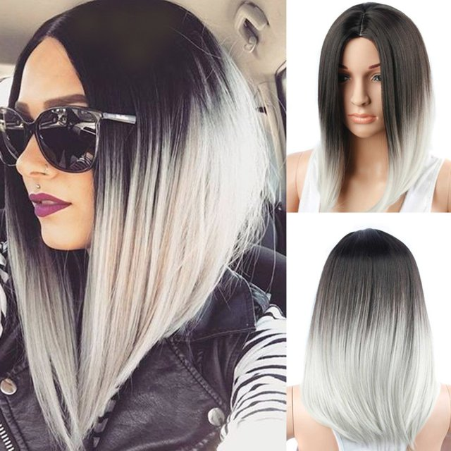 buy aisi hair short wigs for black women ombre wigs two tone