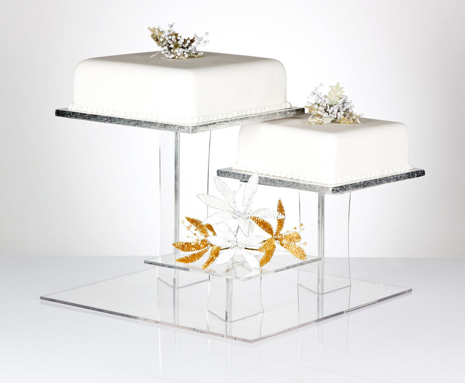 4 Tier Square Wedding Cake Stand Wholesale  Stand Suppliers   Alibaba