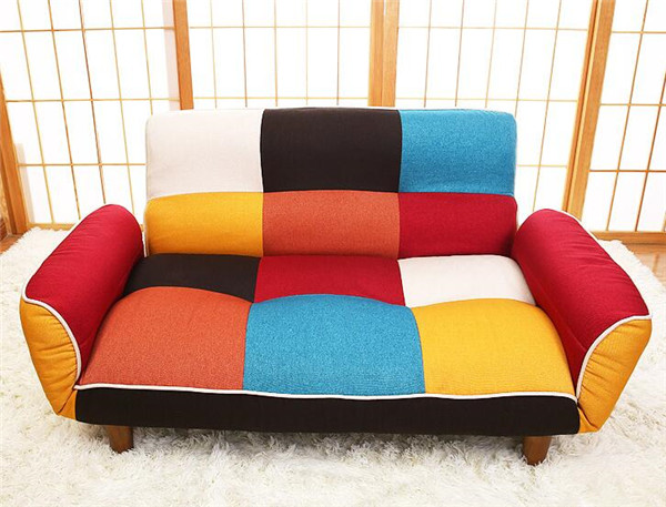 SF11 (5)  Adjustable Couch and Loveseat in Colourful Line Material Dwelling Furnishings Fold Down Couch Sofa Best for Dwelling Room, Bed room, Dorm HTB1wbFUg8HH8KJjy0Fbq6AqlpXaC