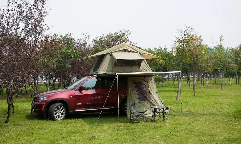 auvent de tente de camping en toile de nylon accessoires 4x4 auvent pour voiture buy auvent voiture sur le toit tente auvent camping auvent product