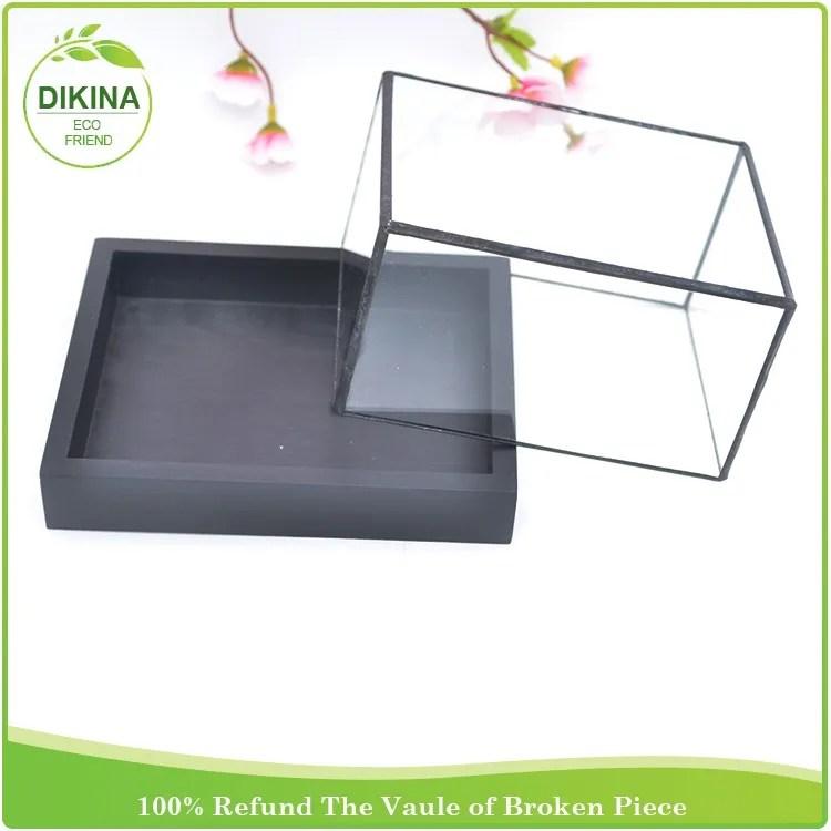 cloche electronique a clochette plateau metallique de toutes tailles presentoir et boite avec support cintre clair base en bois dome en verre