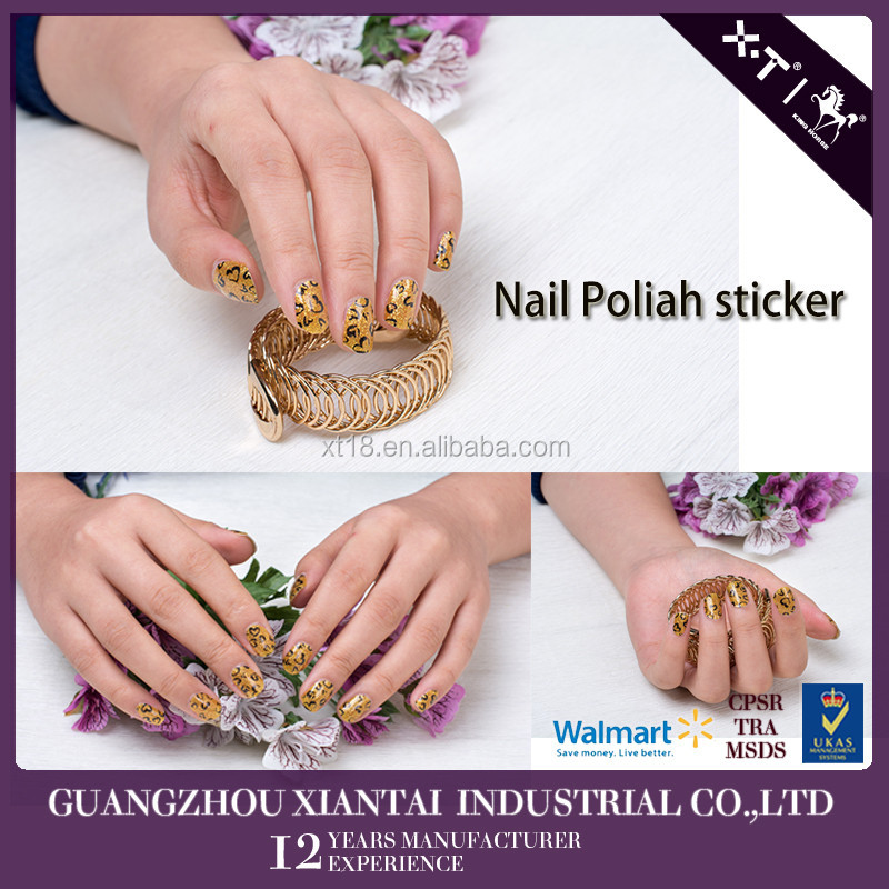 Nail Art World Holiday Polish Strips Finger Stickers