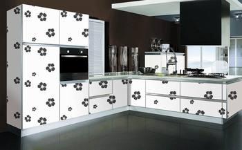 Small Kitchen Cupboard Cabinet Vinyl Wrap Design Buy