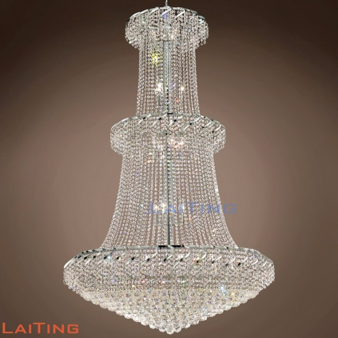 Grand Crystal Chandeliers Restaurant Hanging Lighting Egyptian Pendant Light 63045