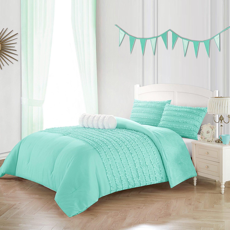 cheap mint green comforter set find
