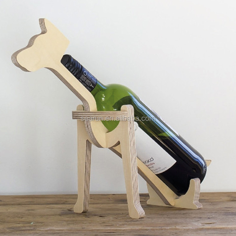 porte bouteille en bois a vin pour animaux presentoir d exposition a bouteilles de vin porte bouteilles en bois pour chien buy porte chien en bois a