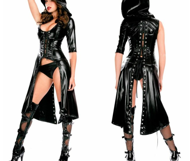 Sexy Bodysuit Latex Costumes Women Sexy Lingerie Erotic Hot Erotic Catsuit Faux Leather Costume Pu Jumpsuit