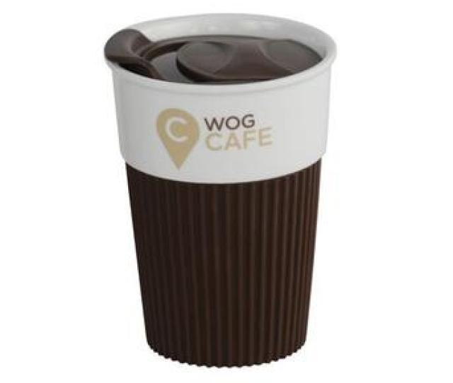Ceramic Coffee Travel Mug With Plastic Lid And Silicone Sleeve Buy Tall Ceramic Coffee Mugsceramic Coffee Mug With Coverporcelain Coffee Mug With Lid