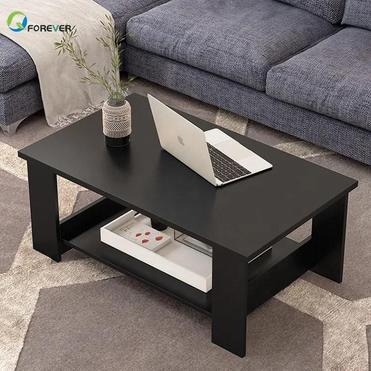 modern minimalist black living room wooden center table tea table buy coffee table modern center table for the living room wooden tea table design