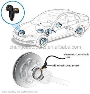 8954233030 Abs Wheel Speed Sensor For Toyota Camry Windom
