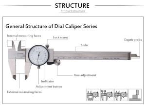High Precision Internal Dial Caliper  Buy Internal Dial