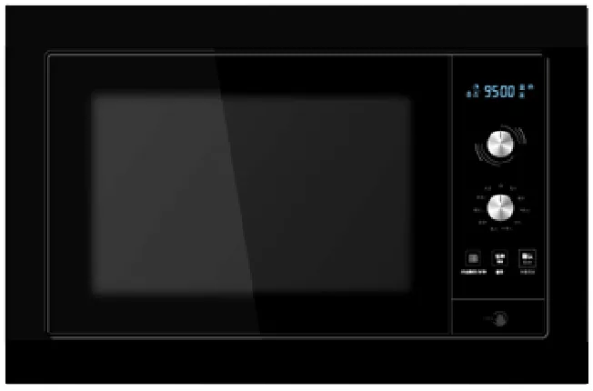high quality 12v built in oem microwave oven with electronic control led display black glass pizza oven buy baking oven industrial microwave