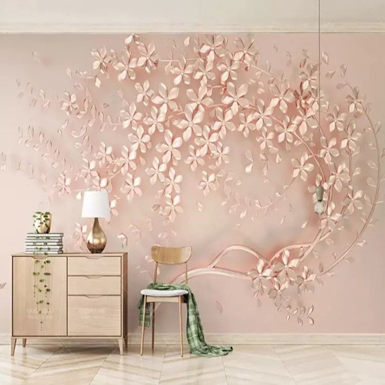 Custom Sizes 3d Romantic Pink Tree Wall Decoration Paper Home Wallpaper For Girl Bedroom Decor Buy Wall Decoration Paper Home Wallpaper 3d Wall Paper Wall Decoration Paper For Girl Bedroom Product On Alibaba Com