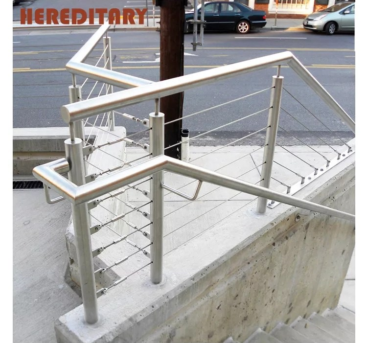 Handrails For Outdoor Steps Steel Grill Design For Terrace | Metal Handrails For Outdoor Steps | Outside | Hand | Backyard | Wood | Contemporary