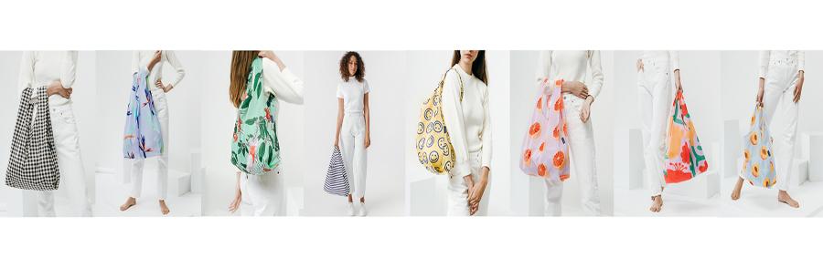 Eco nylon reusable plastic foldable custom shopping bag with logos