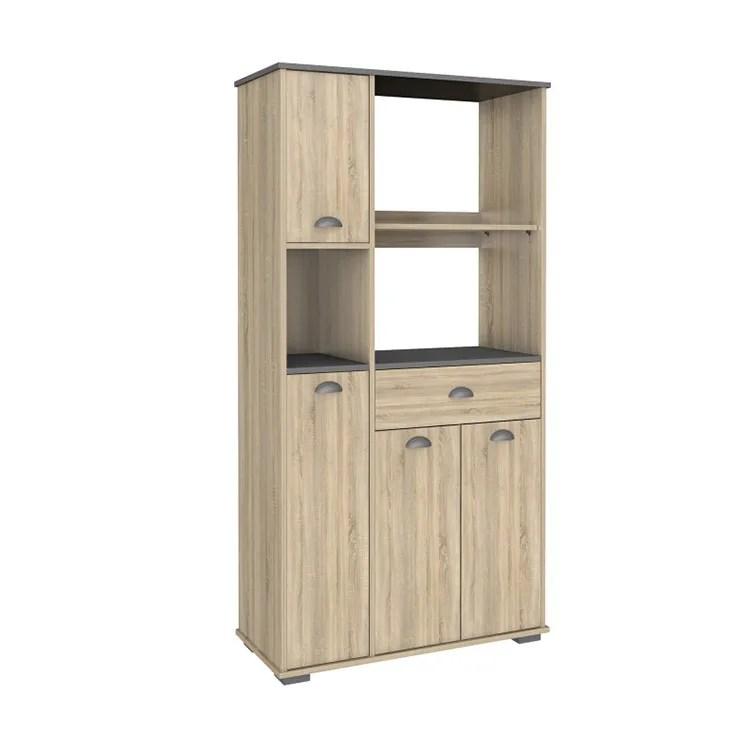 best choice good price kitchen furniture wood storage unit tall hutch side buffet kitchen microwave cabinet with shelf buy kitchen cabinet kitchen