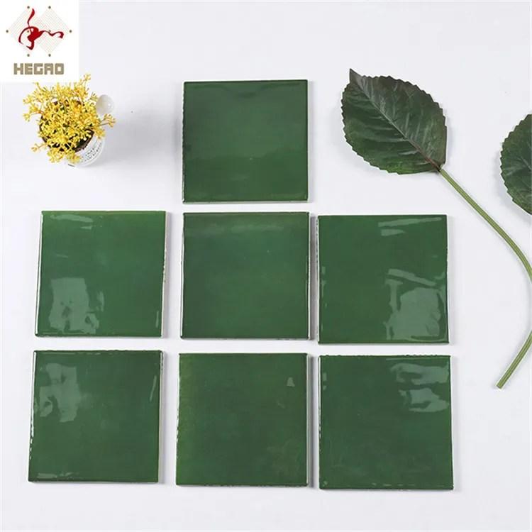 hot sell color dark green 15x15cm 6x6 inch bathroom flower decoration ceramic tiles porcelain floor tile buy porcelain floor tile bathroom tile