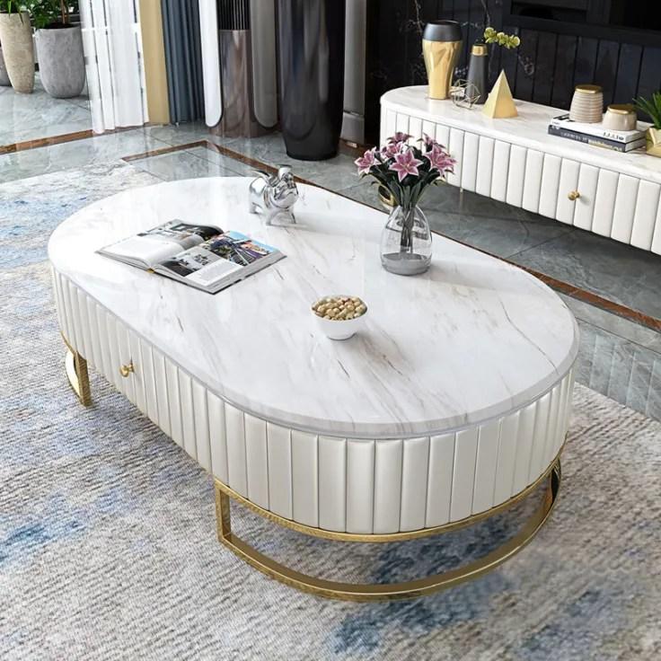 italien de luxe ardoise marbre table basse meuble tv nordique minimaliste moderne salon meuble de plancher buy meuble de television de table basse