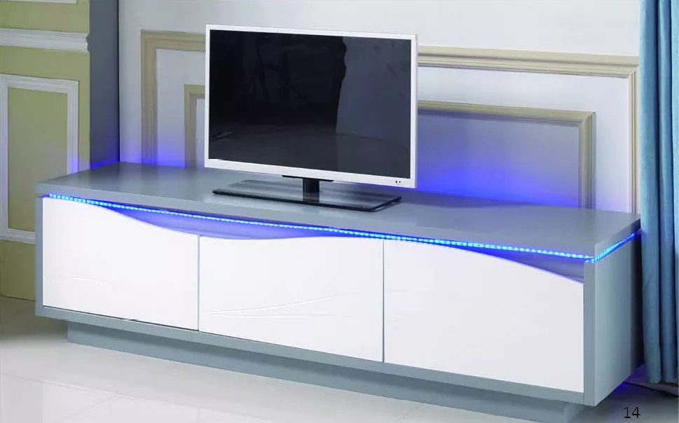 assembled tv console wood led furniture light wall unit stand high gloss 80 inch set modern cabinet lighting living room sets buy assembled tv