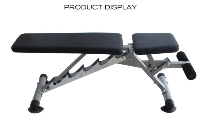 Durable Gym Workout Back Extension Hyperextension Sit Up Bench