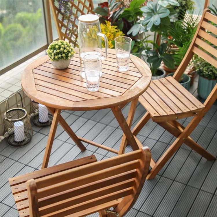 vietnam wood folding outdoor patio furniture bistro chair and table 3 piece bistro set garden buy folding outdoor furniture bistro set bistro chair