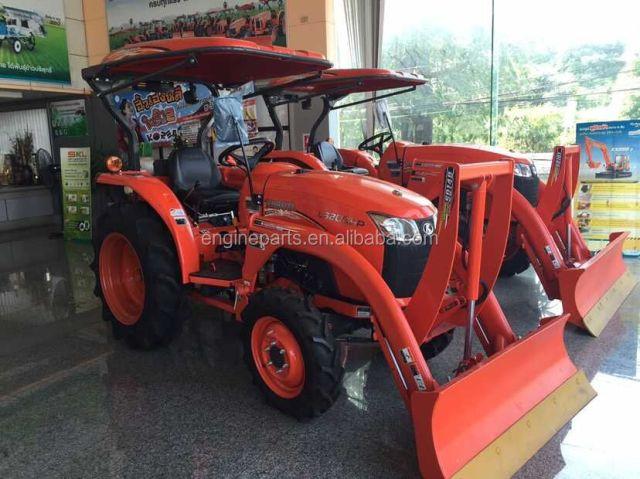 Kubota Minitraktor – Vscad