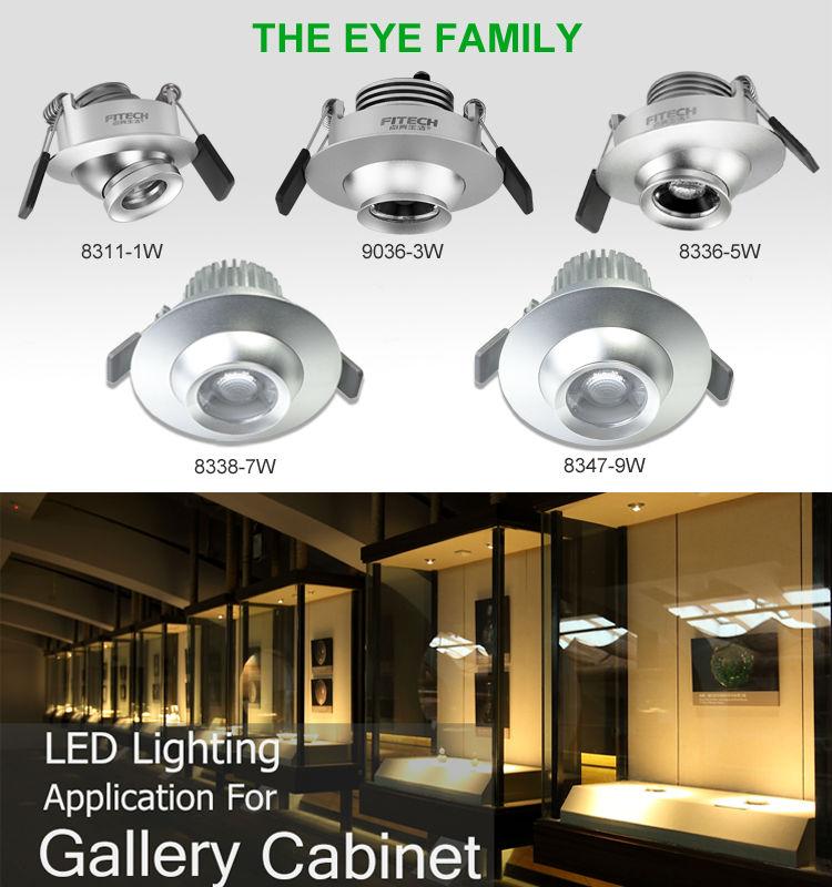 fitech cabinet light recessed light