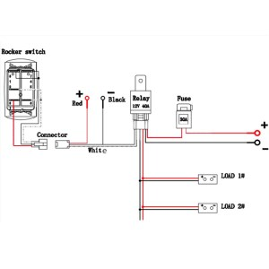 Quality Assurance Momentary Carling Lighted 5 Terminals 5 Pin Rocker Switch Wiring Diagram  Buy