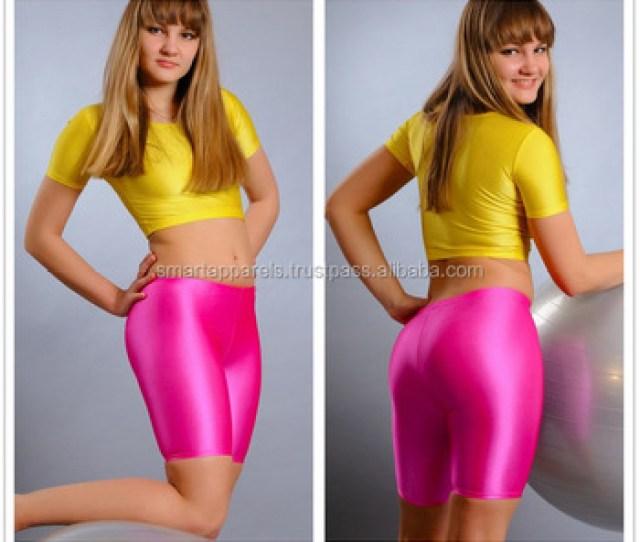Female Sexy Slimming Gym Yoga Fitness Spandex Lycra Shorts