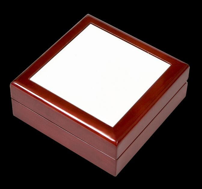 Personalized Gift Box Unfinished Wooden Keepsake Box With