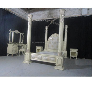 in stock classic italian european furniture bedroom sets california king poster bed with canopy buy four poster canopy bed luxurious king