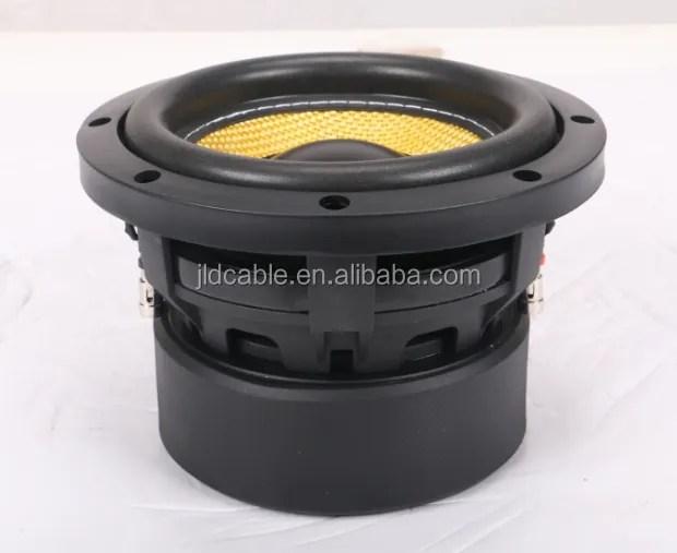 djld audio mini caisson de basses 6 5 pouces pour voiture avec double 4 ohm 300w rms buy graves de 6 5 pouces 4 ohms graves audio de voiture de